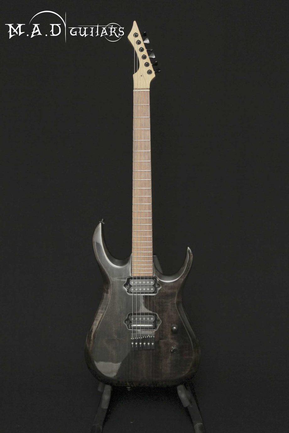 MAD Guitars Mad Machine 6 String Black