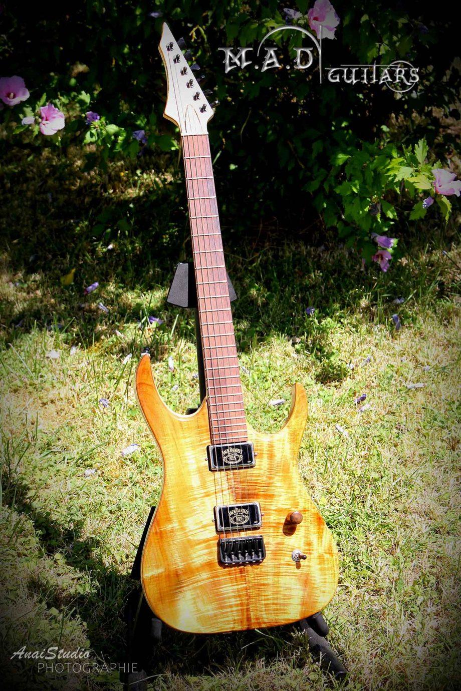 MAD Guitars Mad Machine Jack Daniels