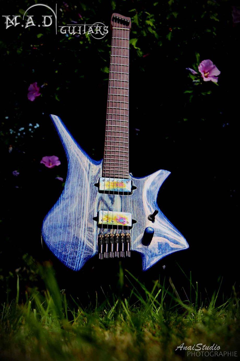 MAMAD Guitars No Mad Blue CobaltD Guitars – No Mad Blue Cobalt – Aldo Maillot