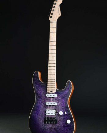 MAD Guitars La Strat Purple Heart
